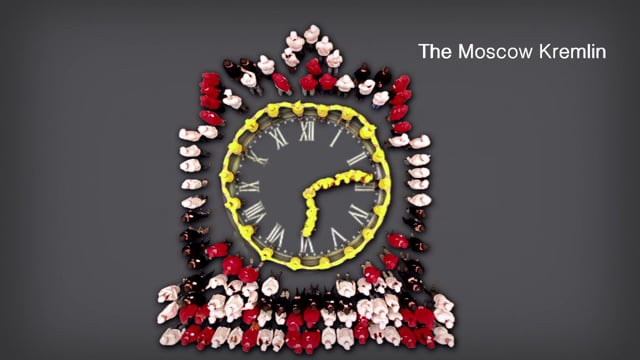 Holcim 100 years people formation flashmob