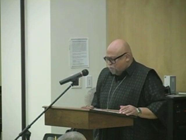 McCormick Welcomes Dr. Maulana Karenga