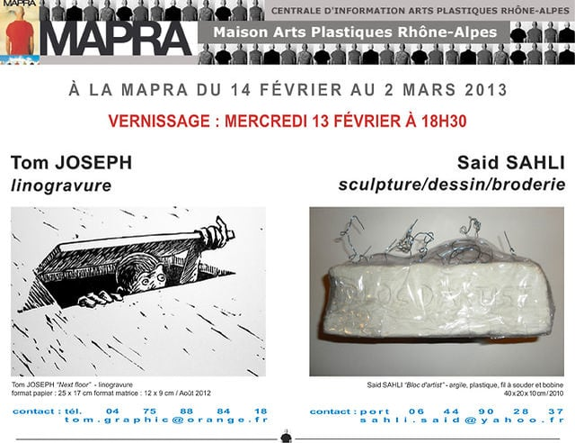 7-02-2013 Tom Joseph, Saïd Sahli MAPRA