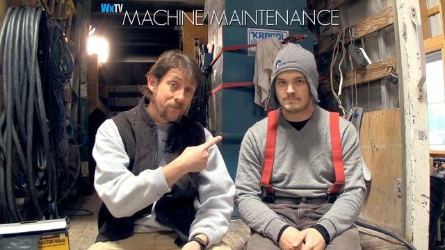 Blower Machine Maintenance
