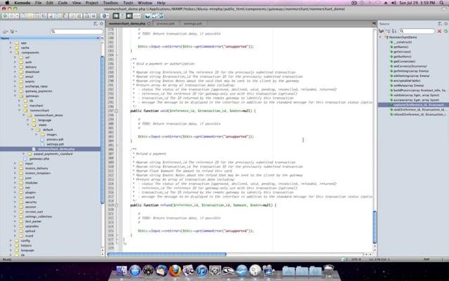 Developer Commentary: Non-Merchant Gateways