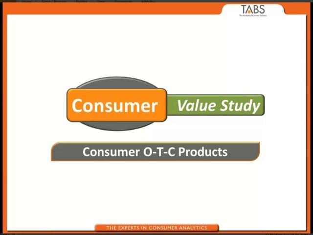 Consumer Value Study (05/03/2013)