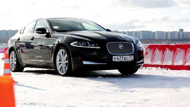 Jaguar AWD Test Drive 2013