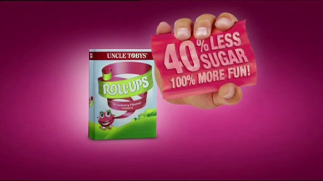 Uncle Toby's 'Roll Ups'