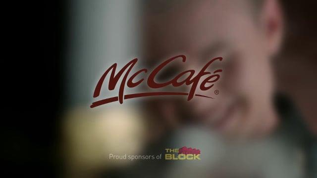 McCafe - The Block Josh & Jenna