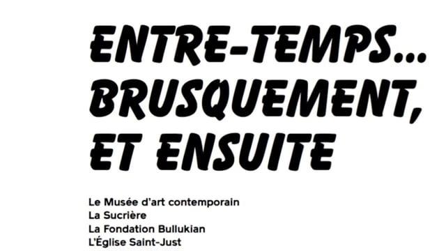 12e biennale de Lyon