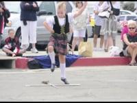 Highland Dancers-Sword Dance CCBCC Car Show 2012