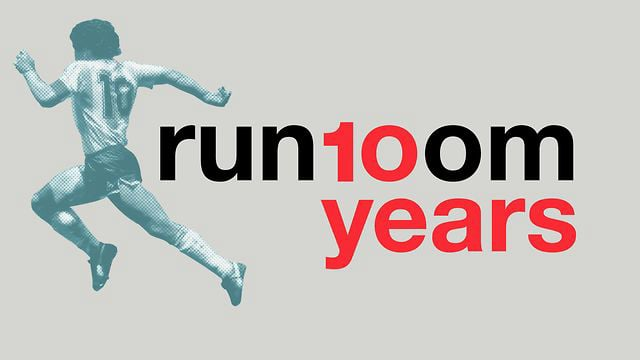 run10om, el vídeo proyectado en la fiesta!