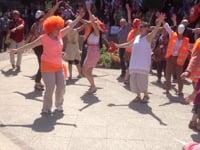 Flashmob Congrès d'Evian