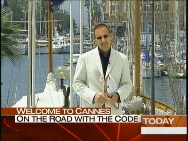 WHERE IN THE WORLD IS MATT? The Cannes Film Festival!