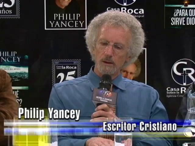 Philip Yancey en Casa Sobre la Roca