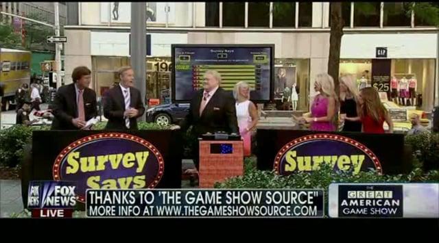 Survey Says as seen on Fox & Friends