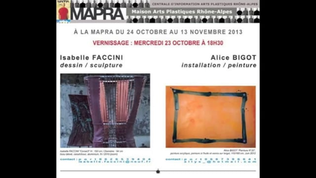 Alice BIGOT - Isabelle FACCINI