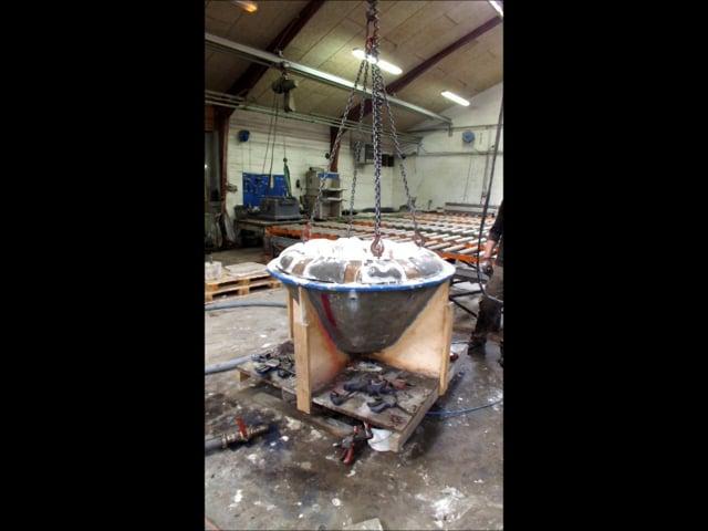 concrete Jello process