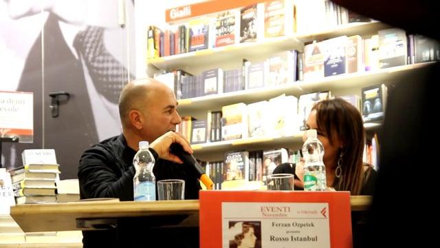 """Ferzan Ozpetek presenta il suo libro """"Rosso Instambul"""""""