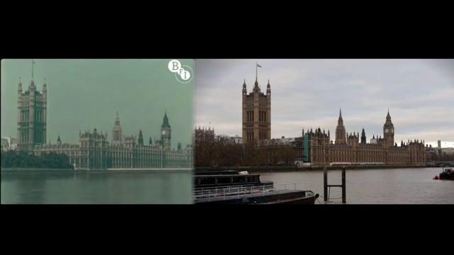Video: Londýn v roce 1927 a 2013