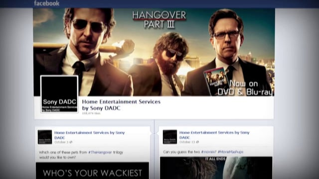 Beerpacity - Sony DADC Hangover 3 Campaign