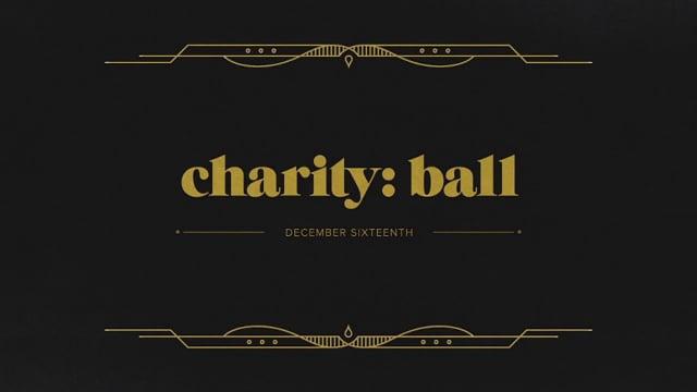 Charity: Ball 2013 type treatment exploration