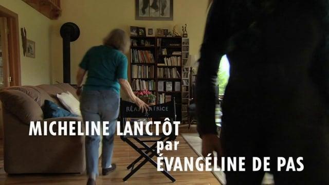 Micheline Lanctôt par Évangéline De Pas