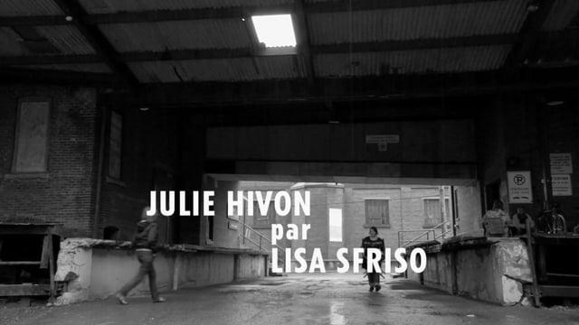 Julie Hivon par Lisa Sfriso