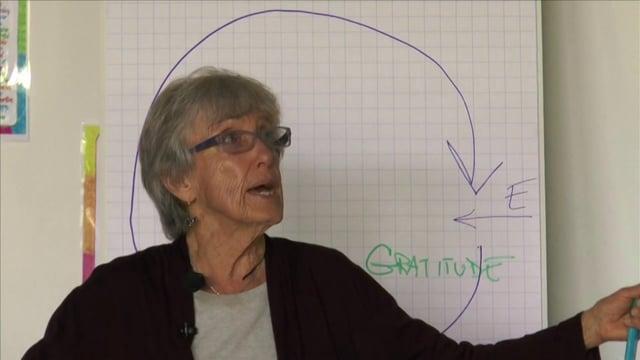 """Joanna Macy """"Dankbarkeit"""" DVD-Clip - mehr unter www.neue-weltsicht.de"""