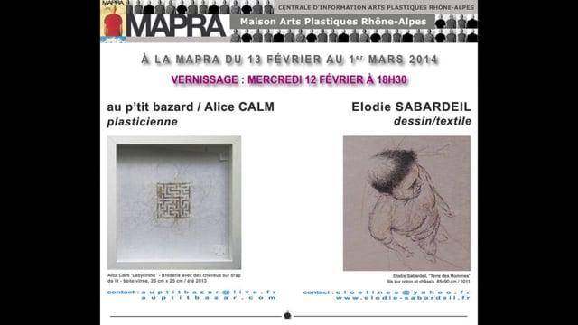 ALICE CALM & ELODIE SABARDEIL à la MAPRA