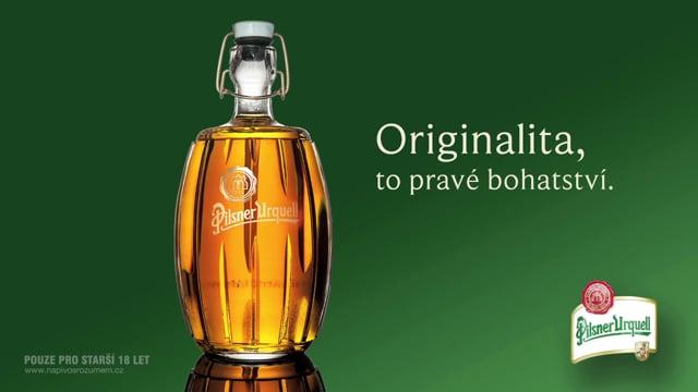 Pilsner Urquell - Limited Edition Bottle