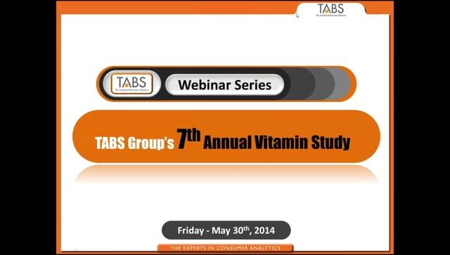 TABS 7th Annual Vitamin Study (05/30/2014)