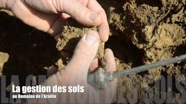 La gestion des sols au Domaine de l'Arjolle