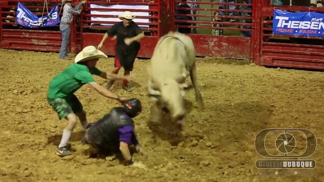 Bull Riding Night - Dubuque County Fair