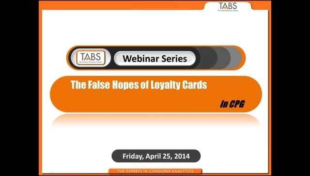 False Hopes of Loyalty Cards (04/25/2014)