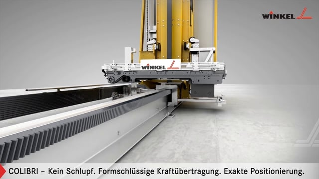 Winkel Colibri Behälter-Regalbediengerät [AKL Lager] | Winkel GmbH Illingen