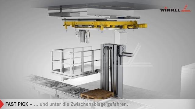 Winkel FastPick Kommissionieren ohne Grube | Winkel GmbH Illingen