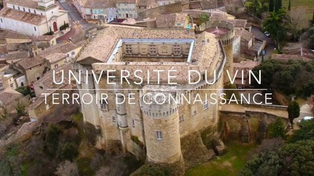 Université du Vin Suze-la-Rousse - Terroir de connaissance