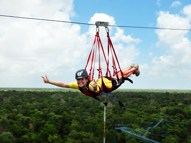 Selvatica, canopy expedition and zipline adventure tour in Cancun