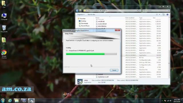 Install FlexiSTARTER Cloud Edition Software