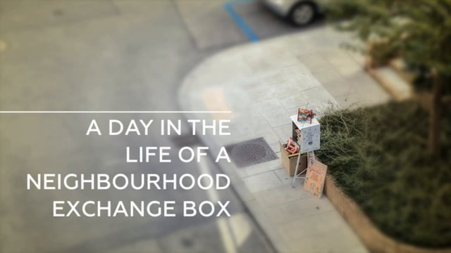 A Day In The Life Of A Neighbourhood Exchange Box