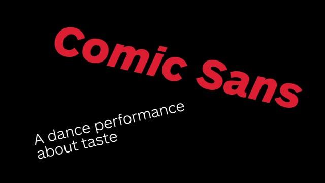 Comic Sans Trailer