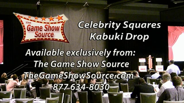Kabuki Drop reveal demo with Celebrity Squares
