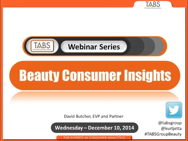 2014 Insights into the Beauty Consumer (12/10/2014)