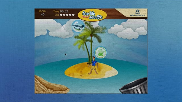 Tata Chemicals See Life through Sea Life Digital App campaign