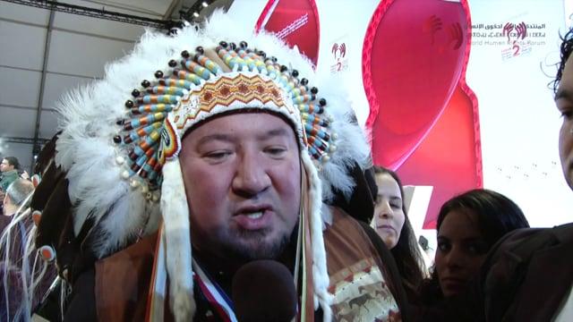 Grand Chief Derek Nepinak, Indigenous people, Canada