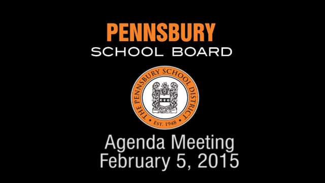 Pennsbury School Board Meeting for February 5, 2015
