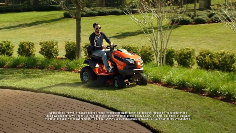Husqvarna - Jimmy Johnson / Fast Tractor