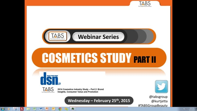 2014 Insights Into the Beauty Consumer - Part 2 (2/25/2015)