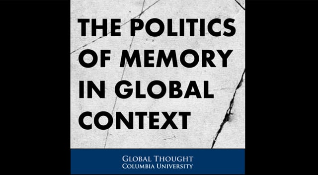 """The Politics of Memory in Global Context<br /> The Politics of Memory in East Asia and Eastern Africa Today<br /> 918 International Affairs Building, Columbia University<br /> February 27, 2015<br /> <br /> Panel discussion as part of The Politics of Memory in Global Context series which brings together scholars in the social sciences and humanities, neuroscientists and psychologists, and curators of historical and memorial museums to explore the relation between individual and collective remembering and the politics of national and transnational memory in the world today.<br /> <br /> Panelists:<br /> Yoshiaki Yoshimi, historian, Chūō University, on the """"comfort women""""<br /> Daqing Yang, historian, George Washington University, on """"war memory in East Asia""""<br /> Jan Kubik, political scientist, University College London, on the """"politics of memory in Eastern Europe""""<br /> Discussants:<br /> Manan Ahmed, historian, Columbia University<br /> Yael Danieli, trauma psychologist<br /> Moderator:<br /> Carol Gluck, historian, CGT member, Columbia University."""