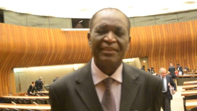 شموطا ديفين باندا، رئيس اللجنة الوطنية لحقوق الإنسان والحريات بالكامورن