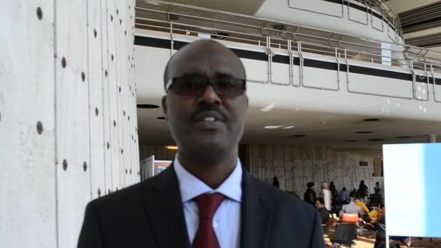 جيلبير سيبيهوكو، المدير التنفيذي للشبكة الإفريقية للمؤسسات الوطنية لحقوق الإنسان