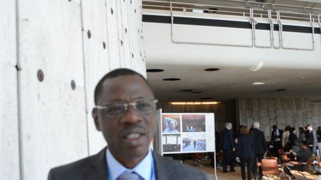 كوفي كونتي، منسق الجمعية الفرنكوفونية للجان الوطنية لحقوق الإنسان