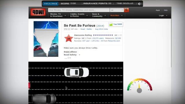 Drive Through The Web Case Study For Bajaj Allianz